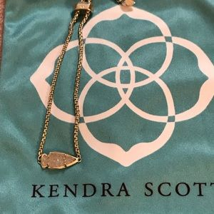 Kendra Scott Gold Glitter Arrow Bracelet